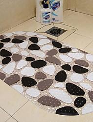 Недорогие -1шт На каждый день Коврики для ванны ПВХ Геометрический принт Квадратный Новый дизайн