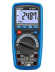 abordables -Le multimètre numérique ohm cem dt-9915 peut tester les valeurs relatives et le rapport cyclique
