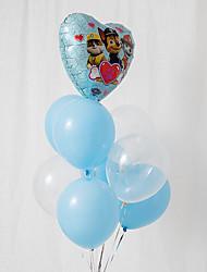 abordables -Ballon Papier d'Aluminium 9pcs Vacances / Thème de conte de fées