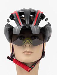 Недорогие -PROMEND Взрослые Мотоциклетный шлем BMX Шлем 17 Вентиляционные клапаны Легкий вес Формованный с цельной оболочкой ESP+PC Виды спорта