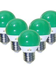 abordables -EXUP® 5pcs 5 W 450 lm E26 / E27 Ampoules Globe LED G45 12 Perles LED SMD 2835 Mignon / Créatif / Soirée Vert 220-240 V / 110-130 V