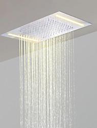 Недорогие -нержавеющая сталь 304 110V ~ 220В переменного тока ванная комната тропическим душем голову энергосбережения светодиодные лампы