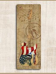 baratos -Instrumentos Musicais Decoração de Parede De madeira Europeu Arte de Parede, Tapeçarias Decoração