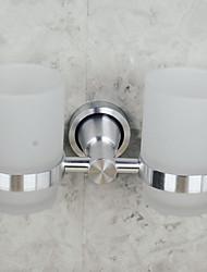 Недорогие -Держатель для зубных щеток Новый дизайн Современный стекло / Алюминий 1шт На стену