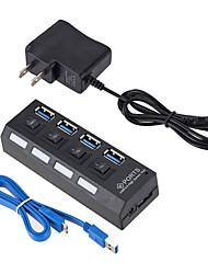 Недорогие -4 USB-концентратор USB 3.0 USB 3.0 Высокая скорость Центр данных