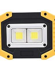 baratos -ismartdigi i-840 LED Flashlight Floodlight Lanternas LED Portátil / Anti-Derrapagem Campismo / Escursão / Espeleologismo / Uso Diário / Ciclismo Amarelo
