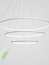 Недорогие -CONTRACTED LED 3-Light Круглый Люстры и лампы Рассеянное освещение Окрашенные отделки Алюминий Несколько цветов, Регулируется, Диммируемая 110-120Вольт / 220-240Вольт / Интегрированный светодиод