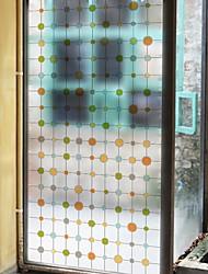 Недорогие -Оконная пленка и наклейки Украшение Обычные Геометрический принт ПВХ Стикер на окна