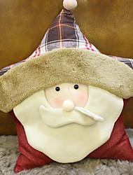 Недорогие -Наволочки / Рождественские украшения Новогодняя тематика / Праздник Хлопок куб Для вечеринок Рождественские украшения
