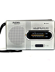 abordables -BC-R21 Radio portable Lecteur MP3 World Receiver Argent