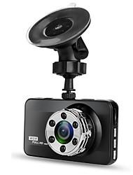 Недорогие -T638 Single Lens 720p / 1080p Новый дизайн / HD / Cool Автомобильный видеорегистратор 170° Широкий угол ≤3 дюймовый LTPS Капюшон с Ночное видение / G-Sensor / Обноружение движения Нет