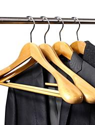 economico -di legno ispessimento Abbigliamento Appendiabiti, 8pcs
