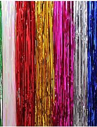 billiga -guld regnbåge sequin bakgrund folie frans tinsel gardin födelsedagsfest regn för dekoration flicka vuxna årsdag bröllop nytt år