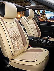 baratos -ODEER Capas para Assento Automotivo Capas de assento Bege Têxtil / Courino Comum Para Universal Todos os Anos Todos os Modelos