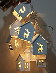 abordables -1 set LED Night Light Blanc Chaud Piles AA alimentées Pour les enfants / Mariage / Décoration <5 V