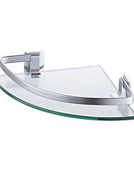 Недорогие -Полка для ванной Новый дизайн / Cool / Многофункциональный Modern стекло / Алюминий 1шт На стену
