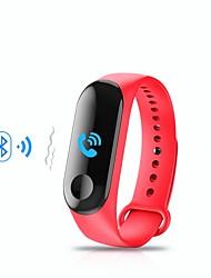 Недорогие -KUPENG M3 Умный браслет Android iOS Bluetooth Спорт Водонепроницаемый Пульсомер Измерение кровяного давления / Сенсорный экран / Израсходовано калорий / Длительное время ожидания / Педометр