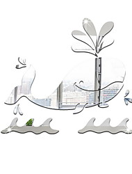 cheap -Decorative Wall Stickers - Mirror Wall Stickers Shapes Living Room