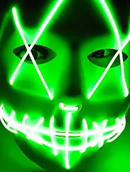 Недорогие -Праздничные украшения Украшения для Хэллоуина Маски на Хэллоуин / Хэллоуин Развлекательный Cool Зеленый 1шт