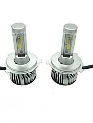 Недорогие -1 комплект 45w 4500lm h4 светодиодный комплект фар