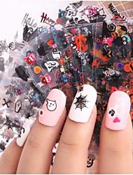 Недорогие -24 pcs 3D наклейки на ногти Креатив маникюр Маникюр педикюр Многофункциональный / Лучшее качество Мода Повседневные / фестиваль