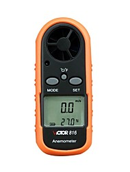Недорогие -1 pcs Пластик Анемометр Высокая мощность / Измерительный прибор VICTOR