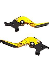 Недорогие -Мотоцикл Рычаг выключения сцепления С тормозным кабелем Алюминий 7075 1 пара (правая и левая) Назначение Мотоциклы Все года