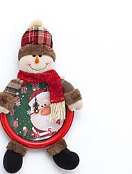 Недорогие -Подарки / Рождественские украшения Праздник Хлопок Мультипликация Рождественские украшения