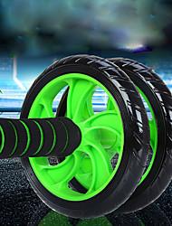 Недорогие -Около 15 см Ab Wheel Roller С 1 Коврик Удобный, Нескользкой, Устойчивость растягивание, Улучшение задних изгибов ПВХ (поливинилхлорида), Полипропилен + ABS Назначение