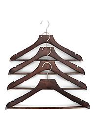 economico -di legno Multi-funzione Abbigliamento Appendiabiti, 4pcs
