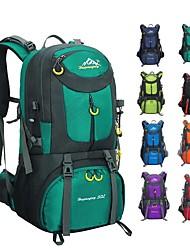 Недорогие -60 L Рюкзаки / Заплечный рюкзак - Легкость, Дожденепроницаемый, Воздухопроницаемость На открытом воздухе Пешеходный туризм, Походы, Путешествия Нейлон Красный, Зеленый, Синий