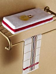 Недорогие -Полка для ванной Новый дизайн Античный Латунь 1шт Односпальный комплект (Ш 150 x Д 200 см) На стену