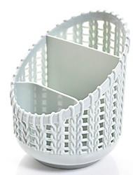 billige -Plast Rund Nyt Design Hjem Organisation, 1pc Opbevaringskurve
