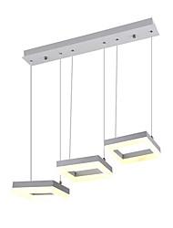 Недорогие -3-Light Мини Подвесные лампы Потолочный светильник Окрашенные отделки Стекло Защите для глаз, Новый дизайн 110-120Вольт / 220-240Вольт Теплый белый / Холодный белый / Интегрированный светодиод / FCC