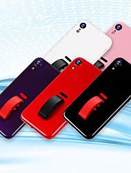 Недорогие -Кейс для Назначение Apple iPhone XS / iPhone XR / iPhone XS Max IMD Кейс на заднюю панель Однотонный Твердый ПК для iPhone XS / iPhone XR / iPhone XS Max