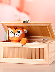 cheap -Useless Box Tiger Stress and Anxiety Relief for Killing Time Wooden Cartoon Kid's Adults' Boys' Gift