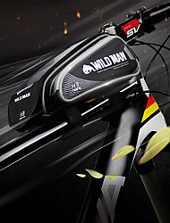 Недорогие -Сотовый телефон сумка Бардачок на раму 6.2 дюймовый Сенсорный экран Водонепроницаемость Со светоотражающими полосками Велоспорт для iPhone 8 Plus / 7 Plus / 6S Plus / 6 Plus iPhone X