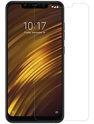 economico -Pellicola salvaschermo per Xiaomi xiaomi pocophone f1 in vetro temperato / pet 1 pz anteriore& protezione della lente della fotocamera ad alta definizione (hd) / 9h durezza / bordo curvo 2.5d