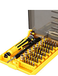 cheap -Chrome Vanadium Steel for computer repair / Phone Repair 45 in 1 Tool Set