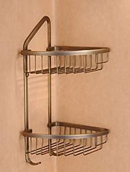Недорогие -Полка для ванной Новый дизайн / Многофункциональный Современный Латунь 1шт На стену