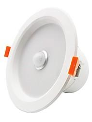 Недорогие -ZDM® 1шт 5 W 350-450 lm 10 Светодиодные бусины Инфракрасный датчик Простая установка Датчик освещенности LED даунлайт Тёплый белый Холодный белый 220-240 V / 90
