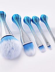 billiga -5 st Makeupborstar Professionell Rougeborste / Ögonskuggsborste / Eyelinerborste Fullständig Täckning / Bekväm Plast
