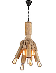 cheap -10-Light Industrial Chandelier Downlight 110-120V / 220-240V Bulb Not Included