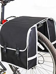 baratos -25 L Mala para Bagageiro de Bicicleta / Alforje para Bicicleta / Malas para Bagageiro de Bicicleta Á Prova-de-Chuva, Á Prova de Humidade, Compacto Bolsa de Bicicleta Nãotecidos Bolsa de Bicicleta