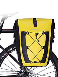 baratos -27 L Bolsa para Bagageiro de Bicicleta / Mala para Bagageiro de Bicicleta / Alforje para Bicicleta Prova-de-Água, Portátil, Á Prova-de-Chuva Bolsa de Bicicleta TPU / 420D Nylon Bolsa de Bicicleta