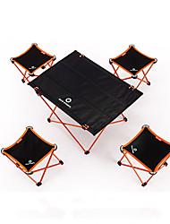 """Недорогие -BEAR SYMBOL Складное туристическое кресло Туристический стол На открытом воздухе Легкость, Дожденепроницаемый, Противозаносный Ткань """"Оксфорд"""", Алюминий 7075 для Рыбалка / Походы - Синий, Оранжевый"""