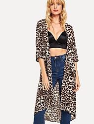 billige -Dame Leopard Basale Cloak / Capes