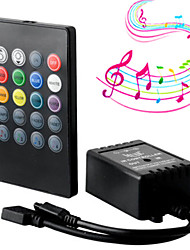 cheap -1pc Remote Controlled / Strip Light Accessory / Music control Controller Plastic
