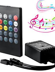 baratos -1pç Controlado remotamente / Acessório Light Strip / Controle de música Controle Plástico