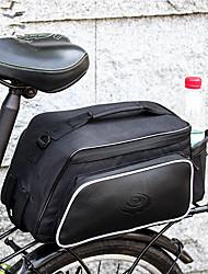 baratos -ROSWHEEL 10 L Mala para Bagageiro de Bicicleta / Alforje para Bicicleta Prova-de-Água, Á Prova-de-Chuva, Vestível Bolsa de Bicicleta Ripstop 600D Bolsa de Bicicleta Bolsa de Ciclismo Ciclismo